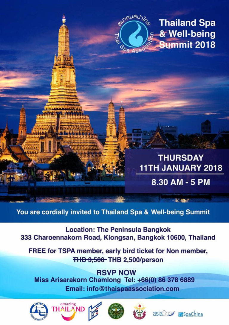 Thailand Spa And Well-being Summit