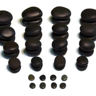 40 Piece Basic Therapy – Basalt Massage Set