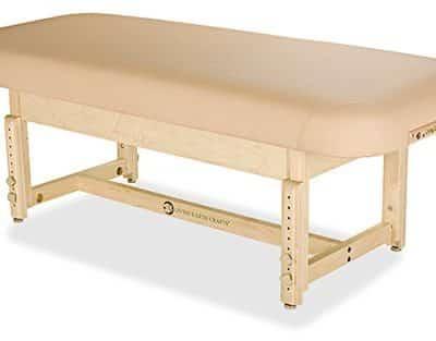 Sonoma Flat Top Spa Treatment Table Shelf Base2